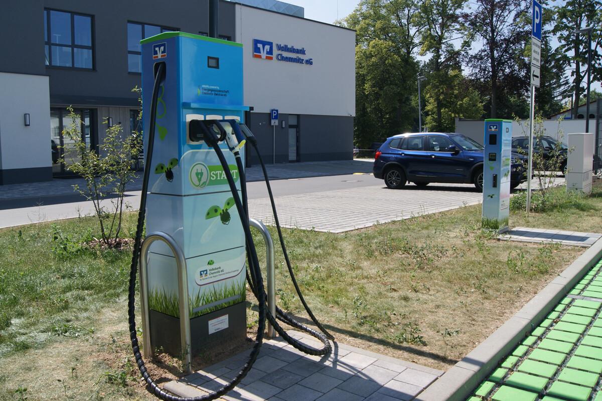 Ladesäule Energiegenossenschaft